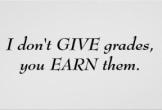 earning grades